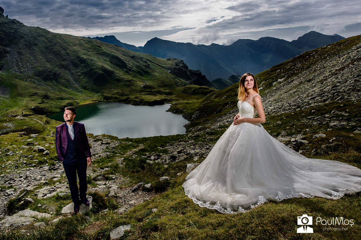 Sedinta Foto - Trash the dress - Transfagarasan