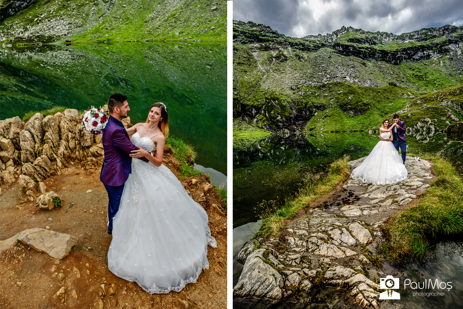 Sedinta Foto Trash the dress - Balea Lac - Transfagarasan