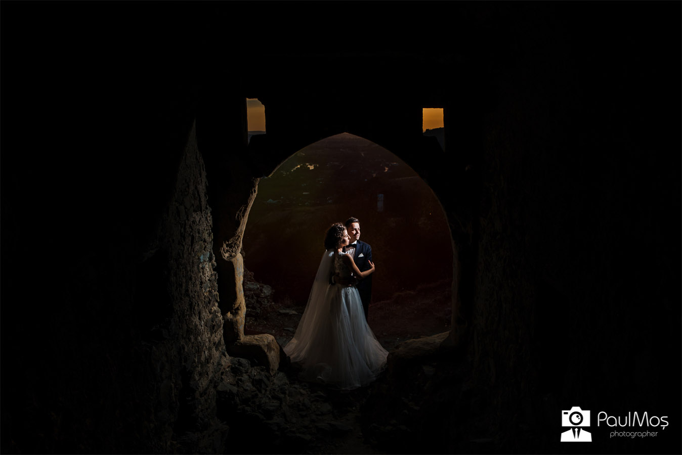 cetatea soimos - trash the dress