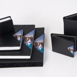 Album foto coperta neagra, albume foto negre, album foto elegant, album foto nunta artistic