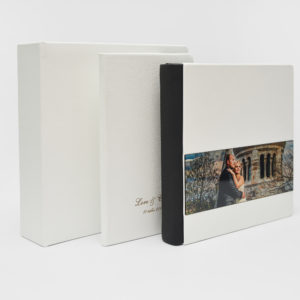 Album foto coperta alba, album nunta, album piele,