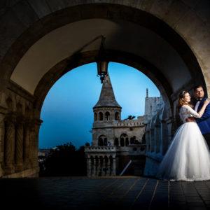 Sedinta Foto trash the dress Budapesta, fotografii nunta budapesta